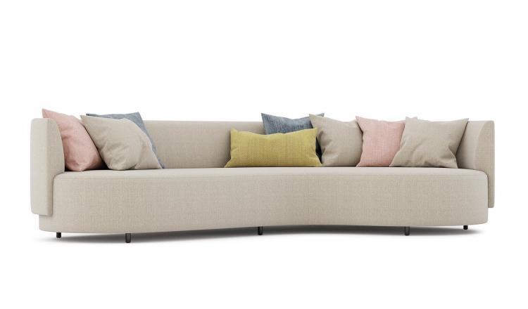 Радиусный диван R80