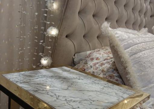 Private interior with Delavega furniture: Bed K9