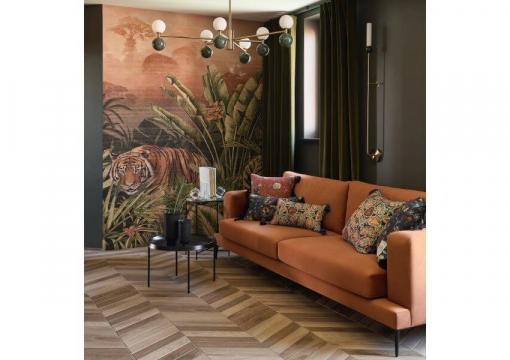 Двокімнатна квартира з м'якими меблями від Delavega: Ліжко K22, Диван A30