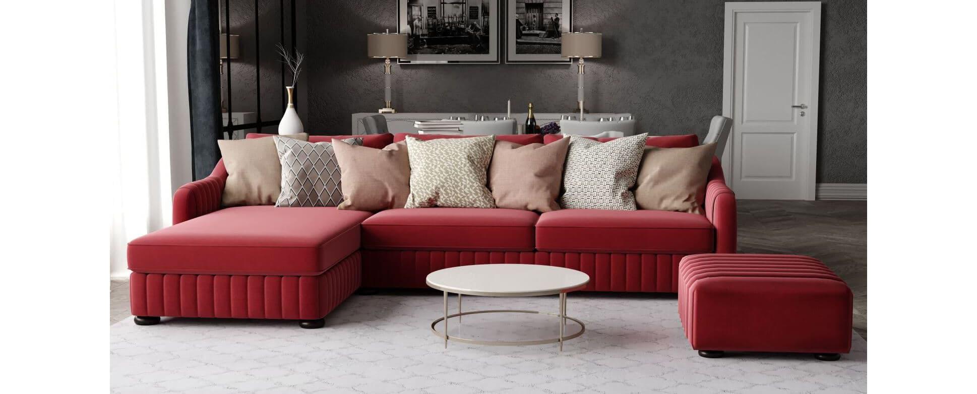 Купить Угловой диван F75 - 2 - Delavega (Делавега)