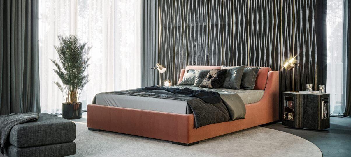 Ліжко Delavega K26. Як поставити ліжко по фен-шуй?