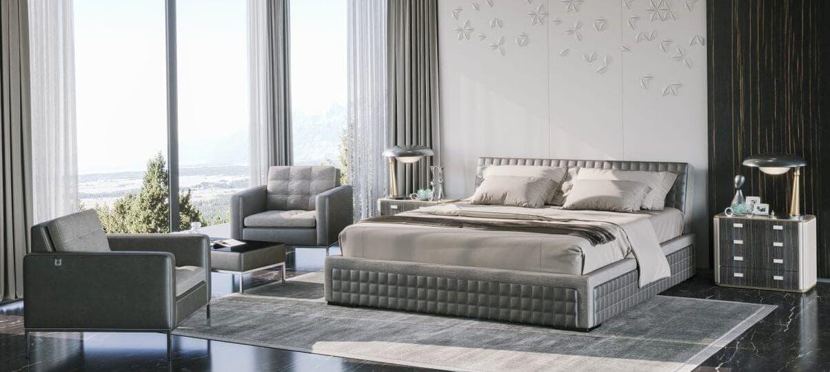 Ліжко з підйомним механізмом Delavega K101 (Київ)