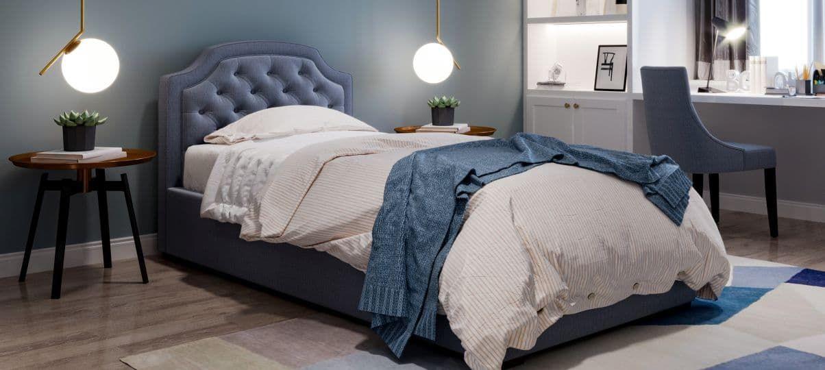 Підліткове ліжко з ящиками для білизни (Дніпро)