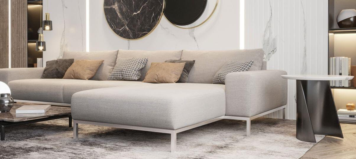 Как подобрать размер углового дивана для различных помещений?