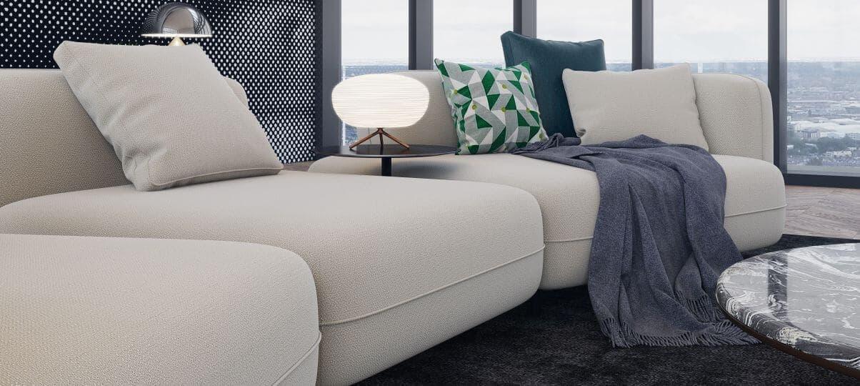 Модульні дивани - універсальний варіант для будь-яких приміщень