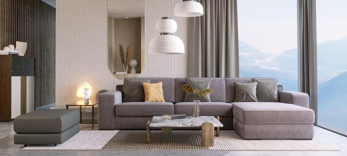 Як вибрати диван у вітальню?