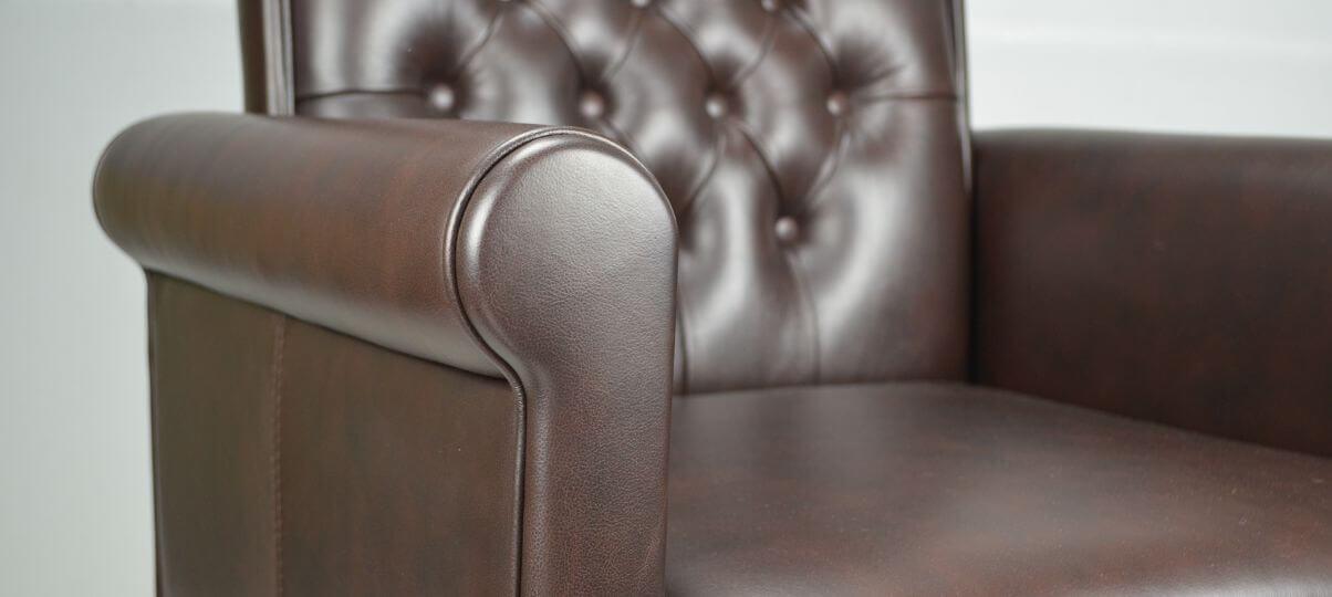 Уход за кожаным диваном или креслом Futura