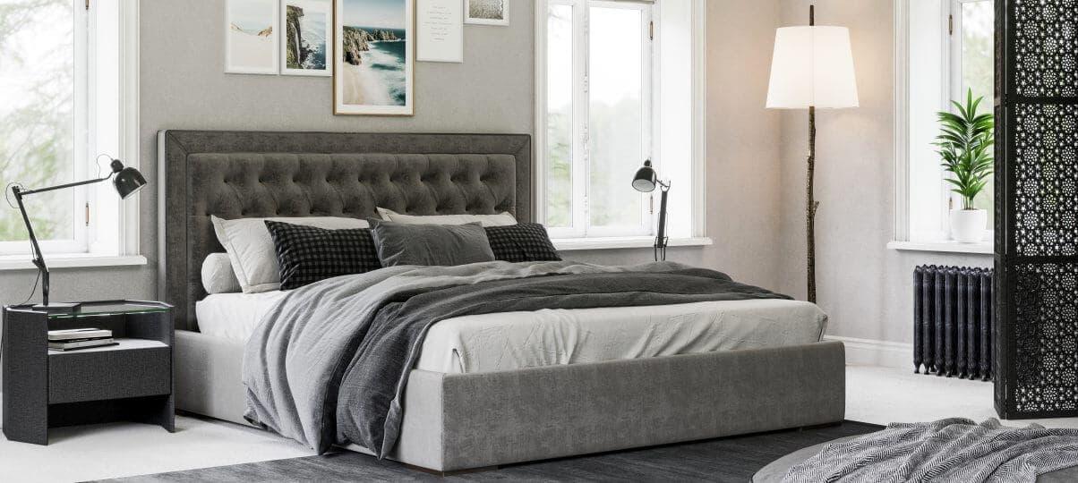 Ліжко Delavega K46. Як поставити ліжко в спальні - поради дизайнерів