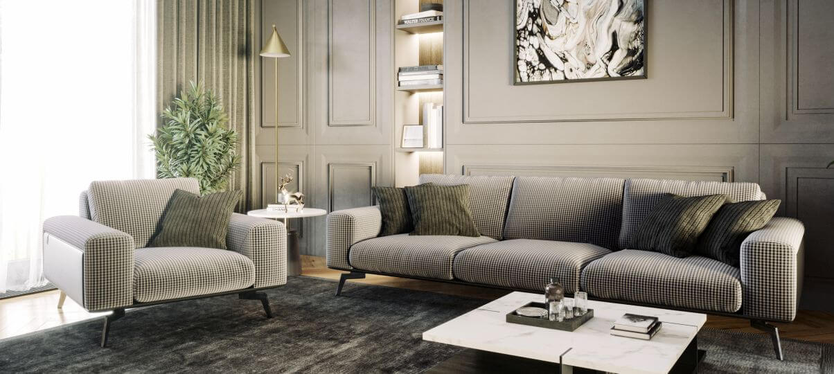"""Как выглядит """"английский"""" цвет мягкой мебели на фото в интерьере"""