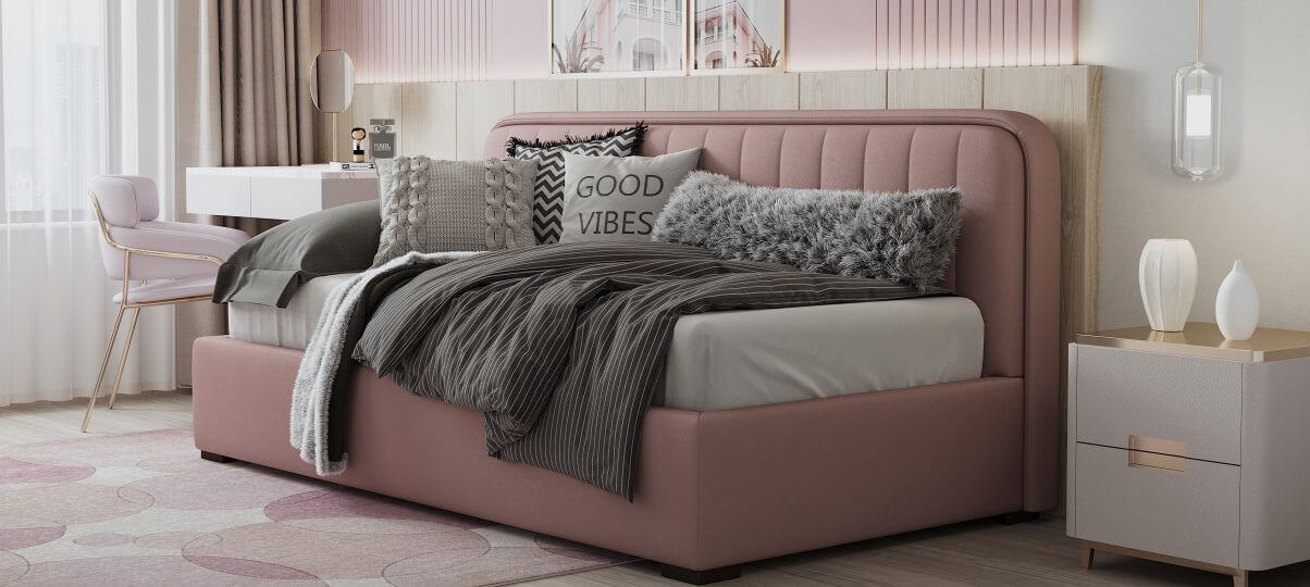 Детская спальня в скандинавском стиле на фото