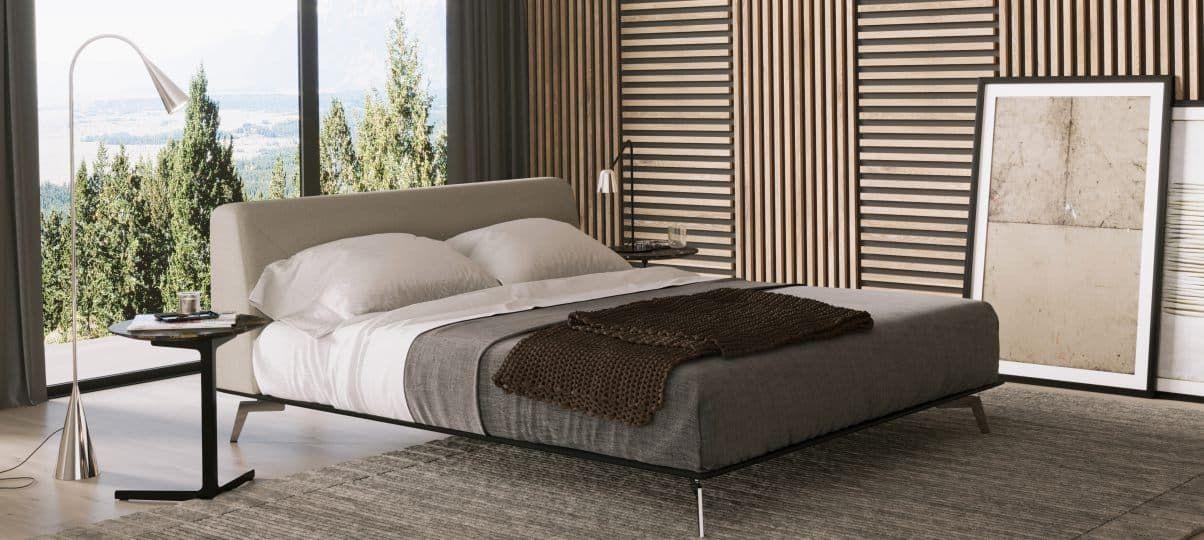 Ліжко Delavega K106. Як правильно поставити ліжко посеред кімнати?